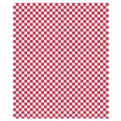 PAPEL ANTIGRASO 31x38cm - CUADROS ROJOS (1000ud)