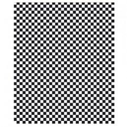 PAPEL ANTIGRASO 31x38cm - CUADROS NEGROS (1000ud)