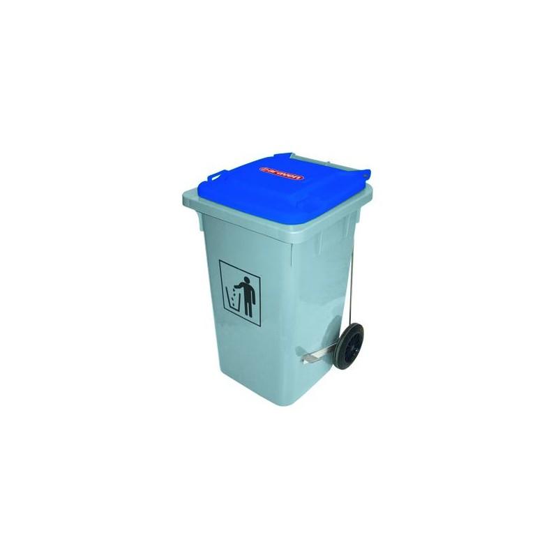 Cubo basura con pedal 100l for Cubos de basura con pedal