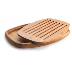 TABLA DE CORTE PAN OVAL 40x27x3 cm