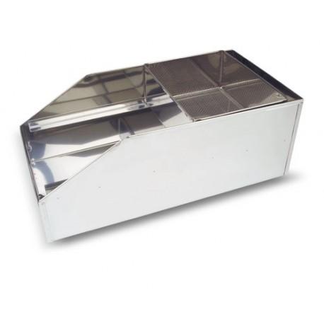 HARINERO INOX 37x26,5x18 cm LACOR