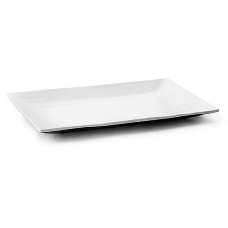 BANDEJA RECTANGULAR MELAMINA FUJI 34x21,5x2,5 cm