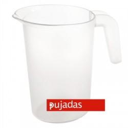 JARRA POLICARBONATO APILABLE SIN TAPA 1 Lts