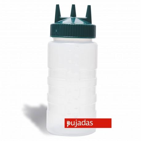 DISPENSADOR A PRESION TRIPLE 500 ml PUJADAS