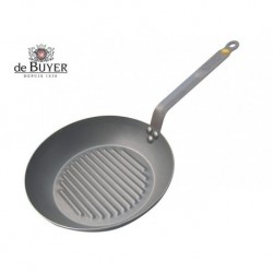 SARTEN GRILL HIERRO MINERAL B- ELEMENT DE BUYER