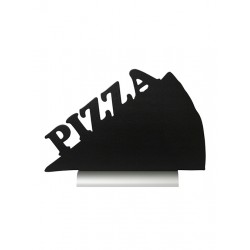 CABALLETE SILHOUETTE PIZZA ALUMINIO