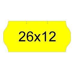 PAQUETE ROLLOS ETIQUETAS ONDA 26X12 CONGELADO (10 ud)