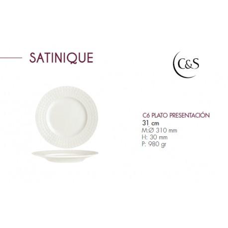 PLATO PRESENTACION MODELO SATINIQUE (6 UD.)