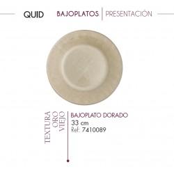 BAJOPLATOS PRESENTACION TEXTURA ORO VIEJO (12 UD.)