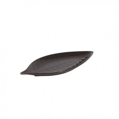 BANDEJA STONWARE AMAZONAS CHOCOLATE 18x8x1,5 cm VV