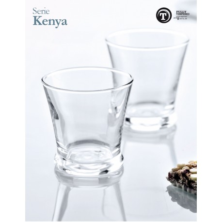 "VASO KENYA ""T"" (12 ud)"