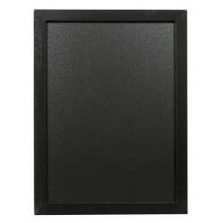 PIZARRA DE PARED WOODY 30x40cm NEGRA