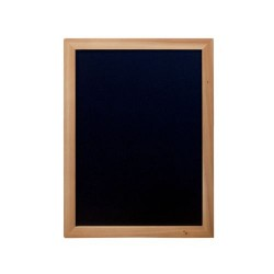 PIZARRA DE PARED WOODY 60x80cm TECA