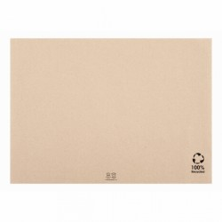MANTEL PAPEL INDIVIDUAL RECICLADO KRAFT 31X43 (500ud)