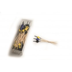 PICKS BROCHETA MIX 12 cm (90 ud)