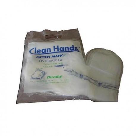 GUANTES HIGIENICOS 40MY CLEAN HANDS 100UND.