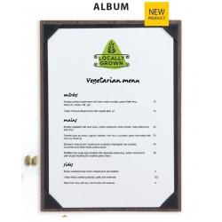 PORTA MENU ALBUM 33x30cm