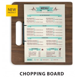 PORTA MENU CHOPPING BOARD 32x24cm