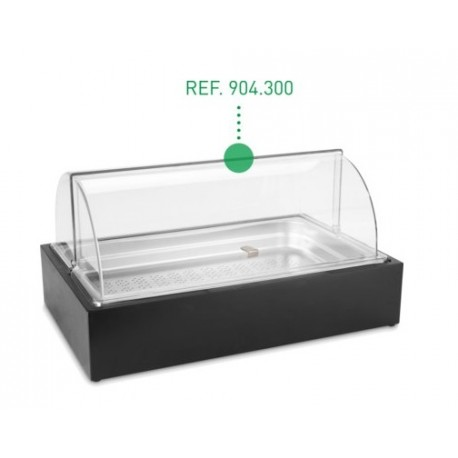 TAPA ROLL-TOP BUFFET RECTANGULAR GN 1/1 57x32,5x17,5cm
