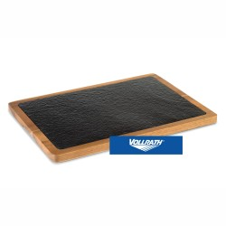 TABLA PIZARRA Y ACACIA 33x23x1,5 cm