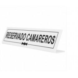INDICADOR RESERVADO CAMARERO