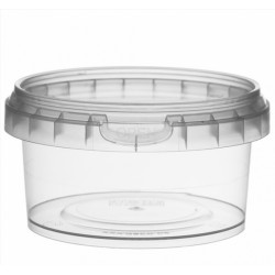 TARRINA PP TRANSPARENTE C/TAPA-Ø95x51mm 210 ml (494 ud)Invio