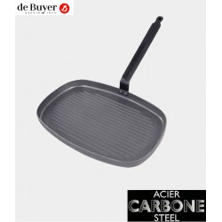 GRILL RECTANGULAR 38x26cm CARBONE PLUS DE BUYER