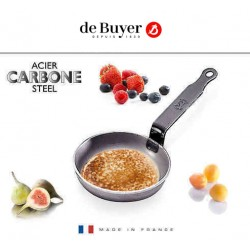 SARTEN BLINIS 12cm CARBONE PLUS DE BUYER