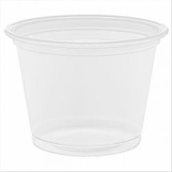 TARRINA PP TRANSPARENTE - Ø 45 x 33 mm 30 ml (125 ud)